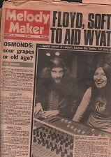 Melody Maker November 3 1973 Osmonds, Jethro Tull, Ian Anderson VG 122115DBE
