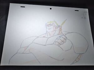 Marvel animation cels Production Art Comics ULTIMATE AVENGERS HULK WASP WOMAN