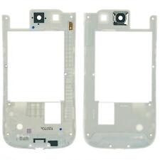 Samsung Galaxy S3 Neo i9301 Mittelgehäuse Cover Rahmen Kamera Glas, weiß