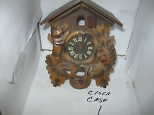 Antique Clock Parts Cuckoo Case Hunter Type Germany Small