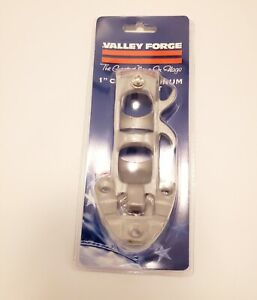 """Flag Pole Bracket Aluminum -Valley Forge- 1"""" New In Package #A1 Holder Mount"""