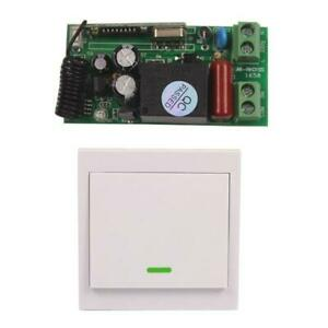 220V 10A Relay Wireless Control Wall Switch LED Light controller ON/OFF