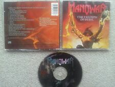 Manowar the Triumph of Steel German COLLECTORS EDITION 8 TRACK CD first press!!!