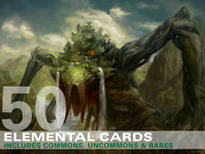 50X Elemental Cards (Includes Rares!) MTG Magic -50 Card Lot Collection Deck-