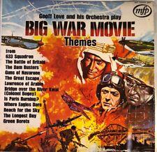 """Geoff Love & His Orchestra - Big War Movie Themes 12"""" Vinyl LP"""