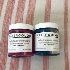 Water Color Pink And Blue Wash Out Hair Masque
