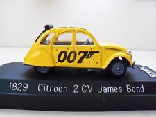 SOLIDO - JAMES BOND 007 - FOR YOUR EYES ONLY - CITROEN 2 CV - 1/43 DIECAST