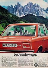 VW-K70-L-1974-Reklame-Werbung-vintage print ad-Vintage Publicidad