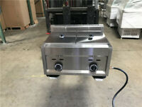 Deep Fryer 7 Gallon Double Propane Gas Commercial Countertop Kitchen Home NEW