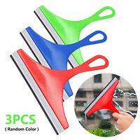3Pcs/set Glass Window Wiper Soap Cleaner Squeegee Shower Mirror Car Blade Brush