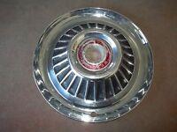 "1964 64 Mercury Hubcap Rim Wheel Cover Hub Cap 14"" OEM USED S7"