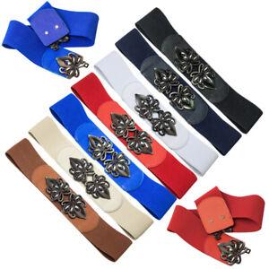 Fashion Elastic Belt Waistband Dress Coat MatchBelts for Women Lady Girls Female