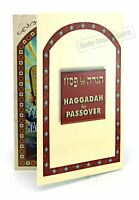 Passover Hagadah/Haggadah Pesach Seder English&Hebrew, Israel Judaica Book