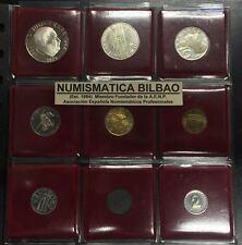 ÖSTERREICH 1971 PROOF SERIE 3 SILVER COINS 100 SCHILLINGS JULIUS RAAB NO SET/BOX