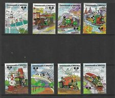 HICK GIRL- MINT DOMINICA STAMPS    DISNEY  PEOPLE MOVER         T197