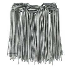 10 PACK METAL GROUND GARDEN MEMBRANE HOOKS FABRIC HOOKS STAPLES PEGS U PINS