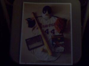 "Major League Baseball No. 10 Hammerin' Hank's ""715"" Poster (11"" x 14"") (1993)"