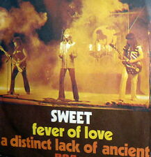 """THE SWEET FEVER OF LOVE 7""""  1977  A DISTINCT LACK OF ANCIENT  ITALY PS"""