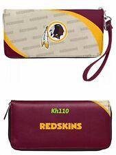 NFL Washington Redskins Curve Zip Organizer Women's Wallet