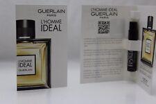 2 Guerlain L'Homme Ideal Eau De Toilette 0.7ml 0.02oz X 2 New Sample In Package