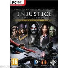 Injustice Gods Among Us Ultimate Edition PC Brand New Factory Sealed