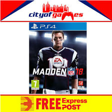 Madden NFL 18 PS4 Game New & Sealed Free Express Post In Stock