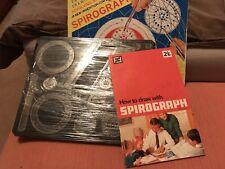 Vintage Spirograph prospecto & Stencils