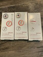Lot Of 6 Wunder 2 Wunderbrow Jet Black 1-Step Brow Gels (New In Boxes)