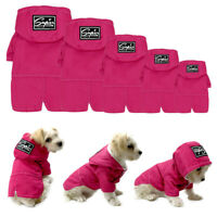 Waterproof Dog Coat Chihuahua Clothes Warm Fleece Lined Jacket Pet Puppy Hoodie