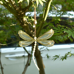 1PC Suncatcher Crystal Hanging Butterfly Ornament for Home Garden Pendant Decor