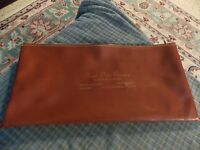 Vintage ROYAL PALM CEMETERY Will Deed Document Bag RARE FIND St. Petersburg, FL