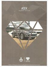 Prospekt / Brochure Mitsubishi ASX Diamant Edition 11/2016