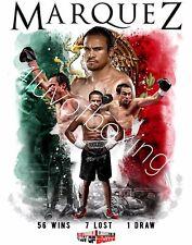 Juan Manuel Marquez Boxing Poster 4LUVofBOXING JMM 11x17 New