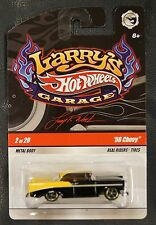 Hot Wheels Larry's Garage '56 Chevy 2/20 Black Signature Metal Body RealRiders