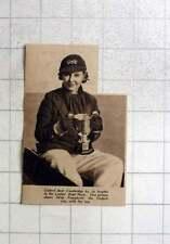 1937 Oxford Cox, Miss Pomphret, Winning Ladies Boat Race