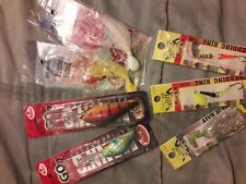 Lot of 7 fishing lures manns ,dragonfly, macks all new