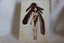 Myths legends goblins fairies Plume de Geai Korrigan  mythes carte postal