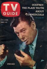 1959 TV Guide March 14 - Arthur Godfrey; Frances Langford; Jack Mahoney; Sothern