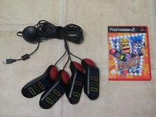 Buzz el pop-Quiz + 4 timbre para PlayStation 2 ps2 PS 2 * embalaje original *