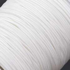 Polyester Picture Frame Hanging White Braided Cord String 2.2mm - 6 Metres