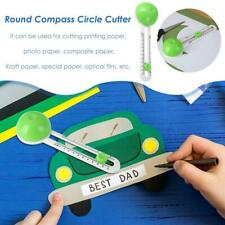 Round Cutting Knife Patchwork Compass Circle Papers Scrapbooking Cards Cutters