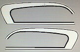 SUZUKI GT125 GT125L 1974 TANK DECAL SET 1