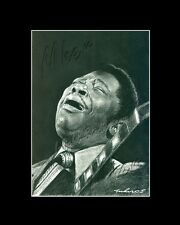 B.B. King blues musician drawing from artist art image picture poster