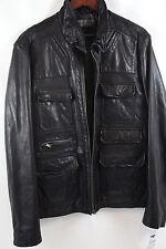 ROGUE Lamb Leather Moto Jacket Size XL  MSRP $695