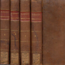 Observations on varioius Passages of Scripture. Rev. Thomas Harmer. 1st.Am. 1815