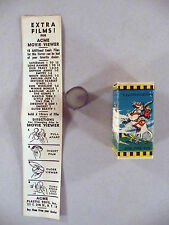 Lone Ranger Acme Film Box with 2 Film Strips and Promo Sheet - 1947
