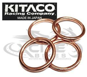 4 x Exhaust Gasket Set KITACO CBR250 MC22 MC19 NC35 #963-1000012# 18291-MN5-650