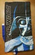 Authentic Lucasfilm STAR WARS Darth Vader Reversible Kids Sleeping Bag Camping