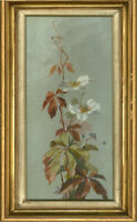 20th Century Oil - Floral Study