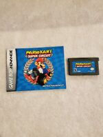 Mario Kart Super Circuit Nintendo Game Boy Advance GAME AND MANUAL AUTHENTIC